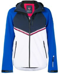 8f1003f11 Rossignol X Tommy Hilfiger Colour Block Zipped Jacket in Red for Men ...
