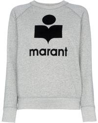 Étoile Isabel Marant - Milly Logo Sweatshirt - Lyst