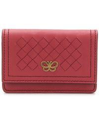 Bottega Veneta - Woven Leather Wallet - Lyst