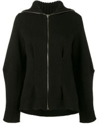Alexander McQueen - Long Sleeved Knitted Cardigan - Lyst