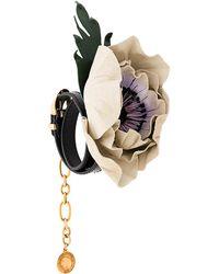Sonia Rykiel - Floral Appliqué Bracelet - Lyst