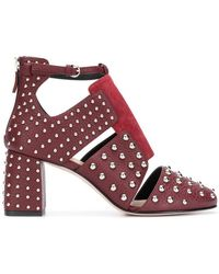 RED Valentino - Red(v) Metal Dot Ankle Pumps - Lyst