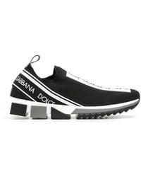 Dolce & Gabbana | Branded Sorrento Sneakers | Lyst