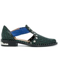 Toga Pulla - Embossed Loafers - Lyst