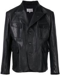 Maison Margiela - Buttoned Jacket - Lyst