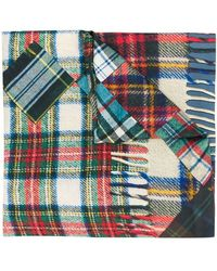 Pierre Louis Mascia - Checked Scarf - Lyst