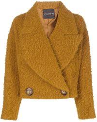 Erika Cavallini Semi Couture - Oversized Short Jacket - Lyst