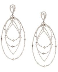 Loree Rodkin - Spherical Star Drop Diamond Earrings - Lyst