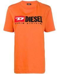DIESEL - T-just-division-fl T-shirt - Lyst