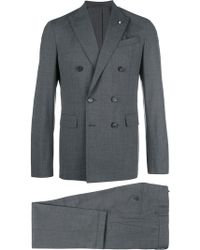 DSquared² - Napoli Double Breasted Suit - Lyst
