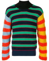 KENZO - Mock Neck Knitted Jumper - Lyst