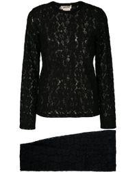 Comme des Garçons - Lace Two-piece Suit - Lyst