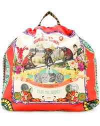 Etro - Circus Print Backpack - Lyst
