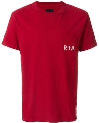 RTA - Logo Print T-shirt - Lyst