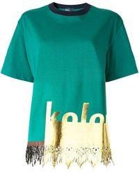 Kolor - Camiseta de manga corta - Lyst