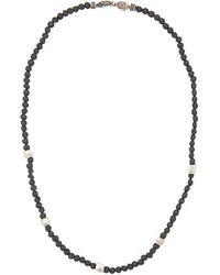 Roman Paul - Beaded Necklace - Lyst