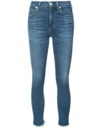 Citizens of Humanity - Jeans mit ausgefranstem Saum - Lyst