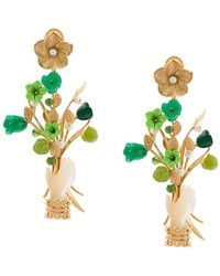 Of Rare Origin - Capitol Xx Collection Bouquet Earrings - Lyst