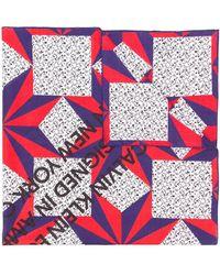 CALVIN KLEIN 205W39NYC - Printed Scarf - Lyst