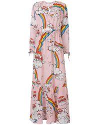 Mira Mikati - Multi-print Maxi Dress - Lyst