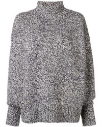The Row - Cashmere Roll Neck Jumper - Lyst