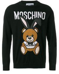 Moschino - Playboy Bear Sweater - Lyst
