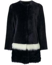 Cara Mila - Tascani Reversible Fur Coat - Lyst