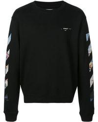 Off-White c/o Virgil Abloh Sweatshirt mit Pfeilen