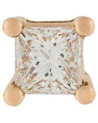 Delfina Delettrez | Dots Solitaire Diamond Earring | Lyst