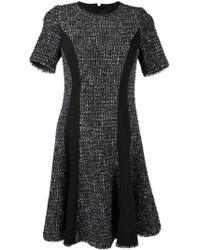 Karl Lagerfeld - Panelled Boucle Dress - Lyst
