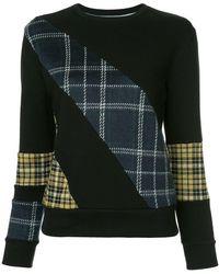 Guild Prime - Check Panel Sweatshirt - Lyst