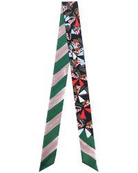 Fendi   Striped Wrappy   Lyst