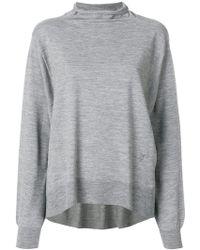 Wunderkind - Flared Turtleneck Sweater - Lyst