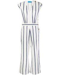 M.i.h Jeans - Side Button Jump Suit - Lyst