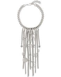 Balmain - Lightning Necklace - Lyst