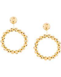 Paula Mendoza - 24k Gold-plated Earrings - Lyst