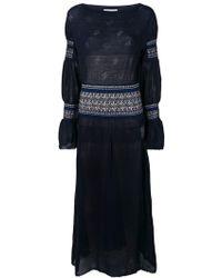 Mame - Sheer Panels Dress - Lyst
