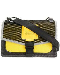 DIESEL - Mesh-panelled Cross-body Bag - Lyst