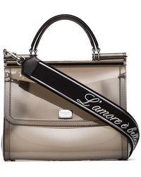 Dolce & Gabbana - Sicily Transparent Shoulder Bag - Lyst