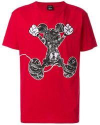 Marcelo Burlon - Mickey Mouse T-shirt - Lyst