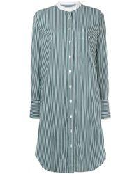 Closed - Striped Shirt Dress - Lyst