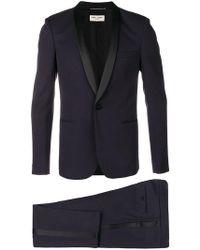 Saint Laurent - Tailored Formal Suit - Lyst