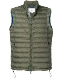 9dfa2ce03d5b Moncler Sleeveless Hooded Gilet in Red for Men - Lyst