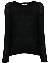 Diega - Curved Hem Sweater - Lyst