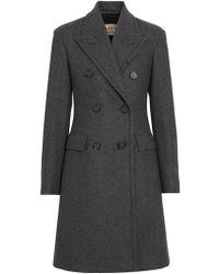 Burberry - Manteau cintré à boutonnière croisée - Lyst