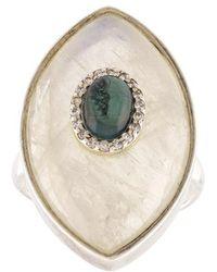 Marlo Laz - 'iris' Verticle Ring - Lyst