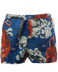 Gucci - Bengal-print Swim Shorts - Lyst