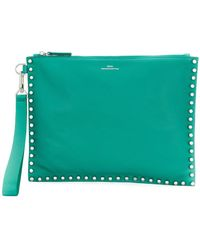 DESA NINETEENSEVENTYTWO - Studded Clutch Bag - Lyst