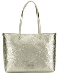 Love Moschino - Embossed Logo Tote - Lyst
