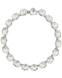 Tory Burch - Crystal Necklace - Lyst